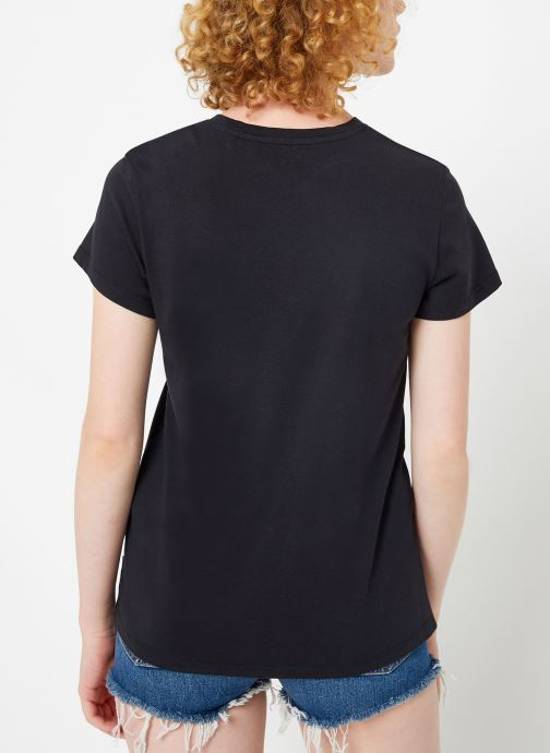 Kleding Levi's The Perfect Tee W Zwart model