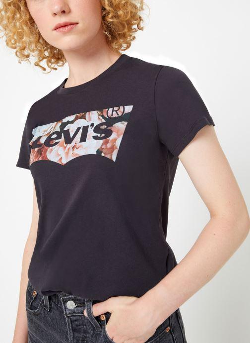Vêtements Levi's The Perfect Tee W Noir vue droite