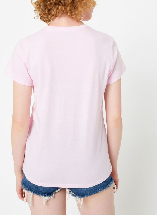 Kleding Levi's The Perfect Tee W Roze model