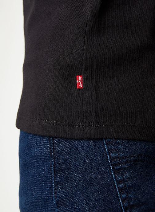 Vêtements Levi's Graphic Set-In Neck M Noir vue face