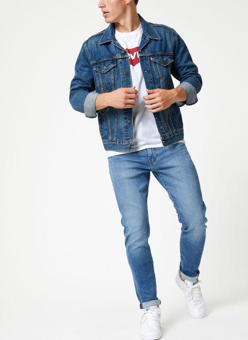 Vêtements Levi's Graphic Set-In Neck M Blanc vue bas / vue portée sac