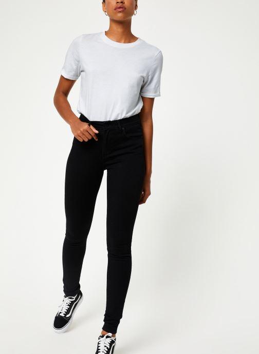Vêtements Levi's 721 High Rise Skinny W Noir vue bas / vue portée sac