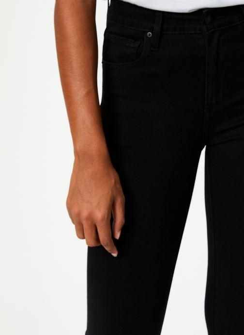 Vêtements Levi's 721 High Rise Skinny W Noir vue face