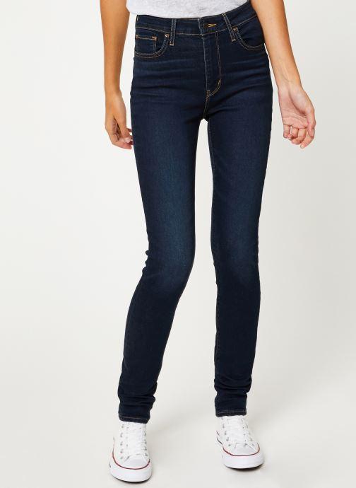 Vêtements Levi's 721 High Rise Skinny W Bleu vue détail/paire