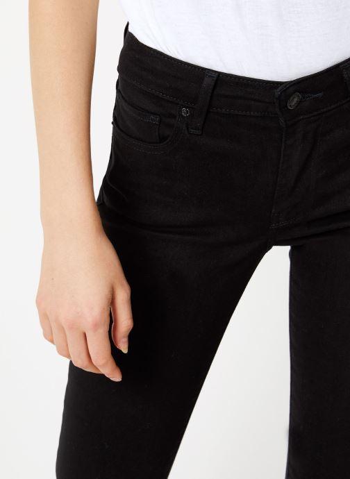 Vêtements Levi's 712 Slim W Noir vue face