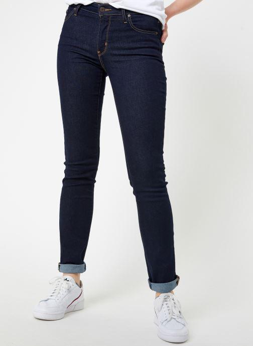 Vêtements Levi's 712 Slim W Noir vue détail/paire