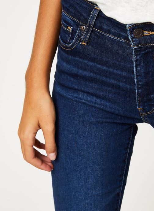 Vêtements Levi's 712 Slim W Bleu vue face