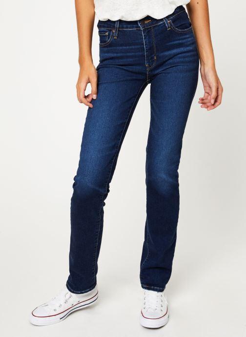 Vêtements Levi's 712 Slim W Bleu vue détail/paire