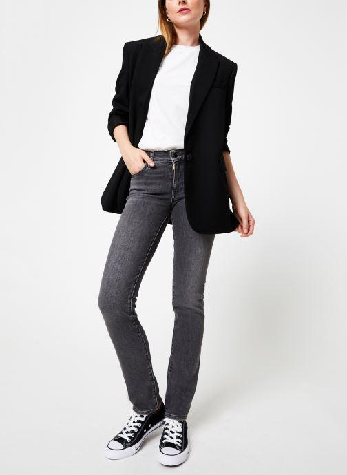 Vêtements Levi's 712 Slim W Gris vue bas / vue portée sac