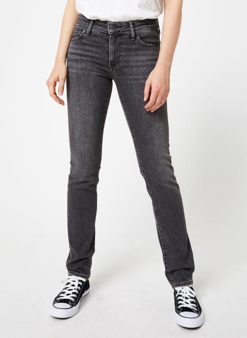 Vêtements Levi's 712 Slim W Gris vue détail/paire