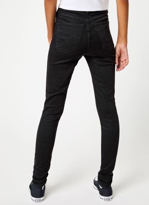 Kleding Levi's Mile High Super Skinny W Zwart model