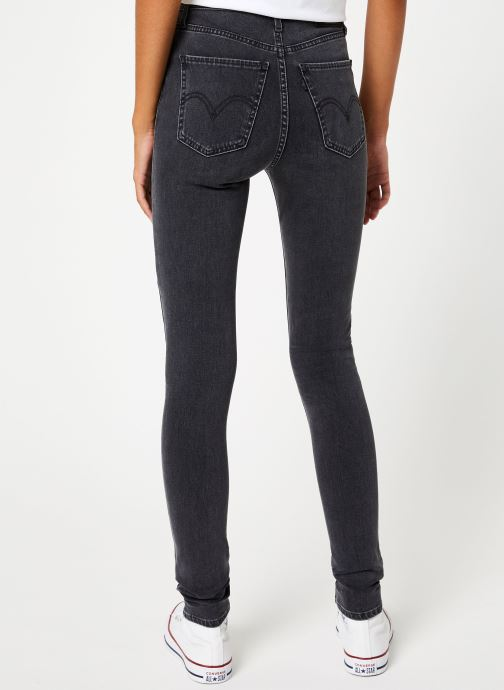 Kleding Levi's Mile High Super Skinny W Grijs model