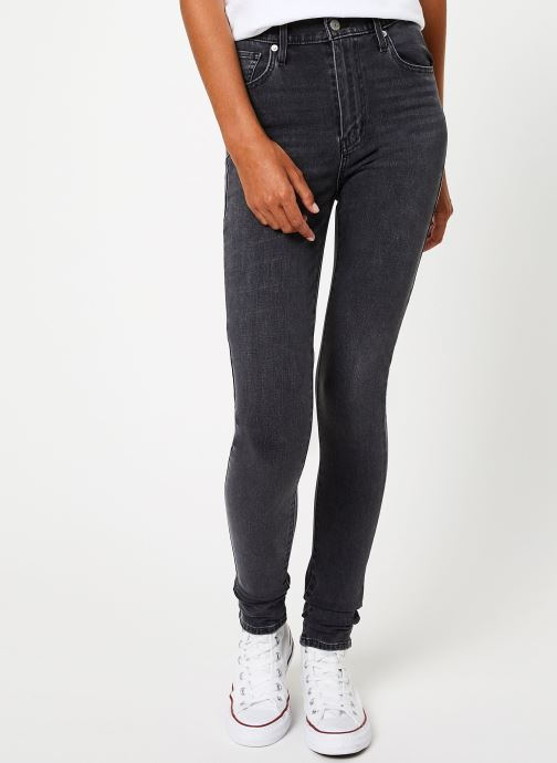 Vêtements Levi's Mile High Super Skinny W Gris vue détail/paire