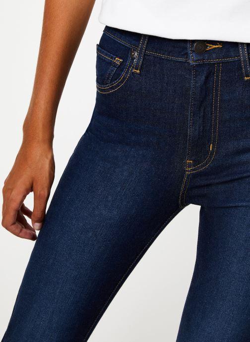 Vêtements Levi's Mile High Super Skinny W Bleu vue face
