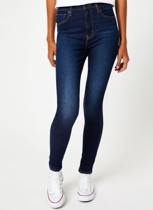Vêtements Levi's Mile High Super Skinny W Bleu vue détail/paire