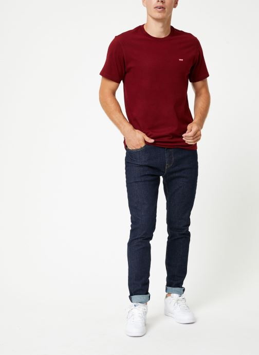 Vêtements Levi's 512™ Slim Taper Fit M Bleu vue bas / vue portée sac