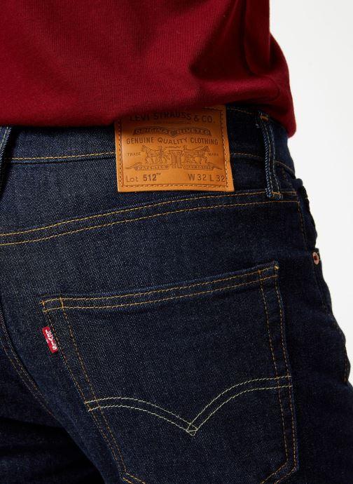 Vêtements Levi's 512™ Slim Taper Fit M Bleu vue face