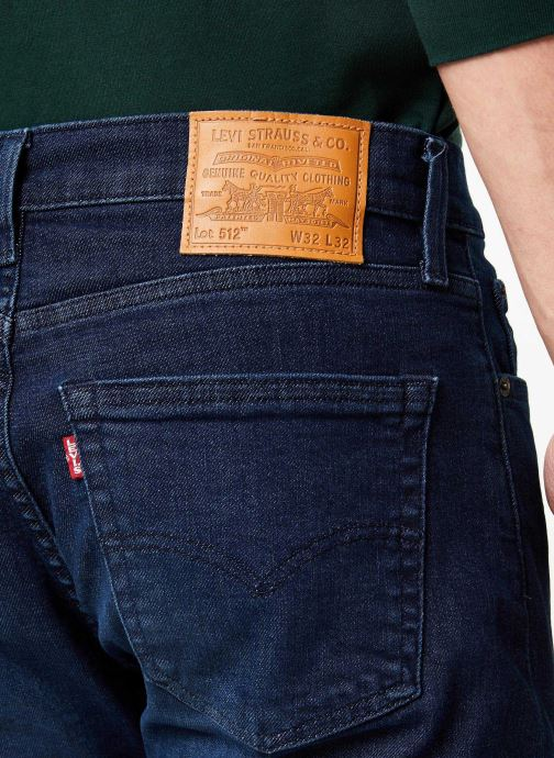 Vêtements Levi's 512™ Slim Taper Fit M Bleu vue face