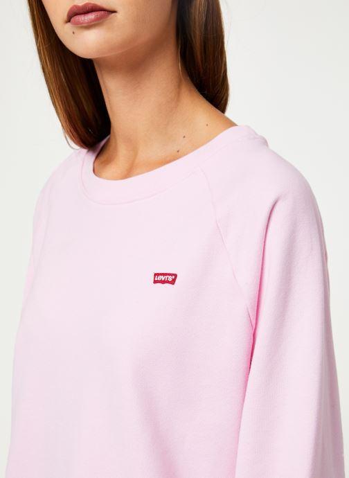 Vêtements Levi's Relaxed Graphic Crew W Rose vue face