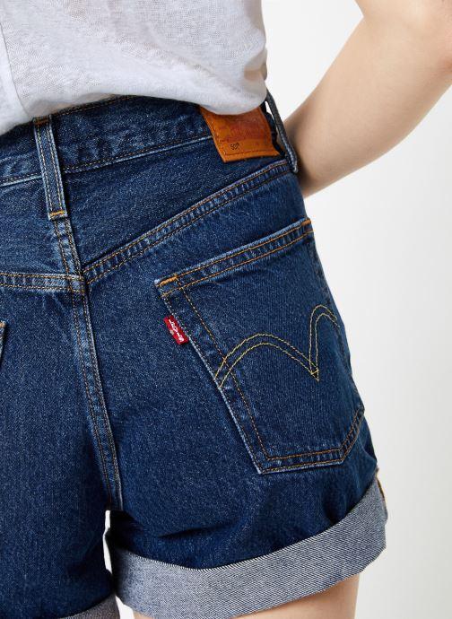 Vêtements Levi's 501® Short Long W Bleu vue face