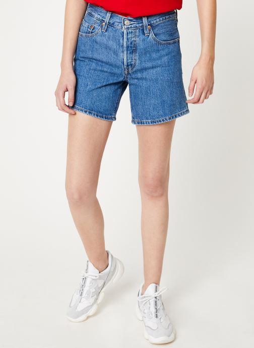 Vêtements Levi's 501® Short Long W Bleu vue détail/paire