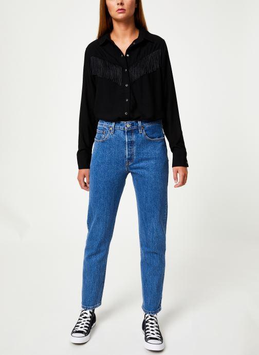 Vêtements Levi's 501® Crop W Bleu vue bas / vue portée sac