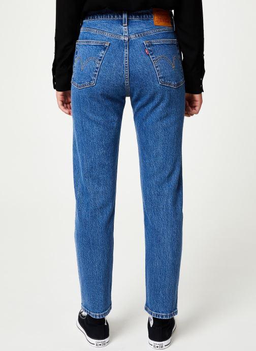 Vêtements Levi's 501® Crop W Bleu vue portées chaussures