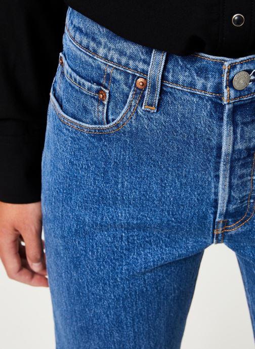 Vêtements Levi's 501® Crop W Bleu vue face