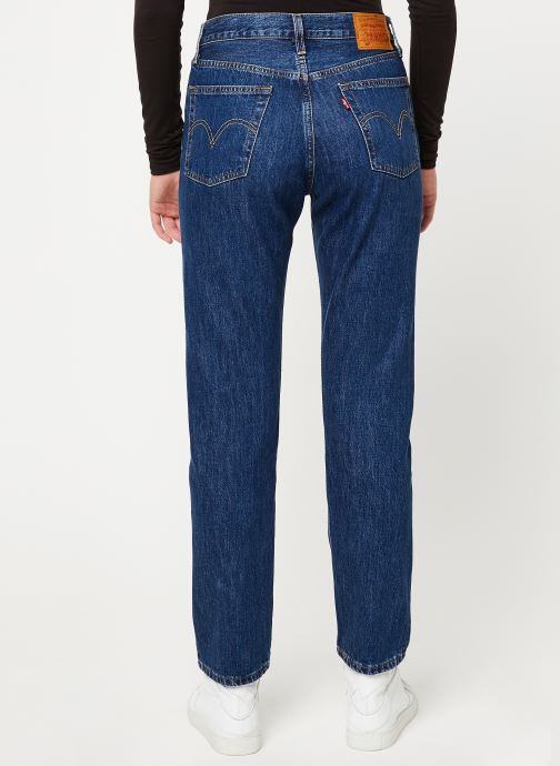 Kleding Levi's 501® Crop W Blauw model