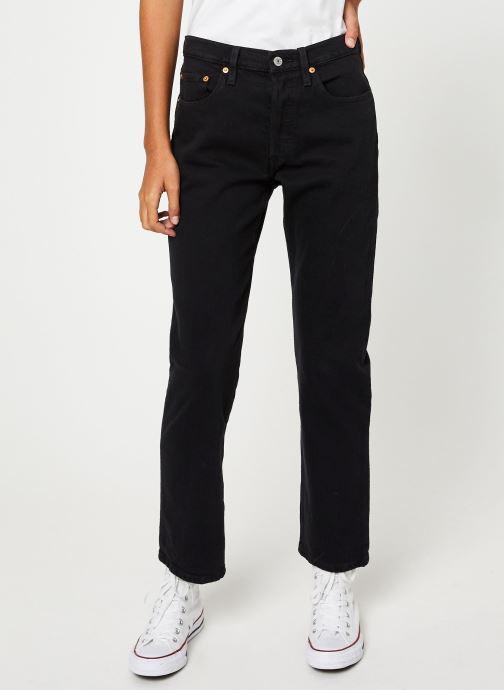 Vêtements Levi's 501® Crop W Noir vue détail/paire