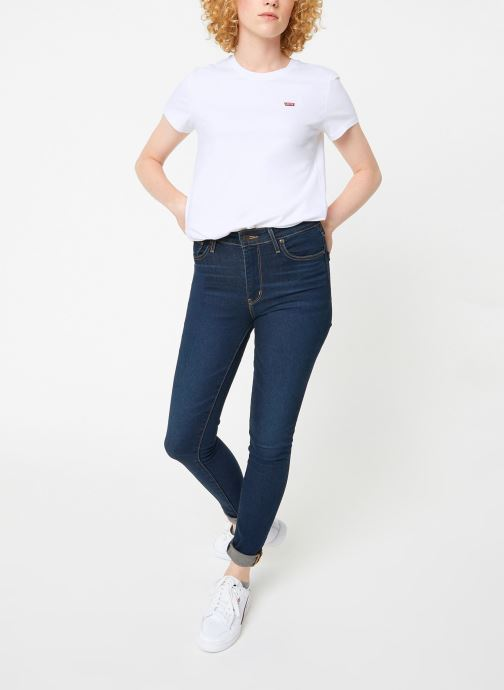Vêtements Levi's Perfect Tee W Blanc vue bas / vue portée sac