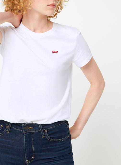 Vêtements Levi's Perfect Tee W Blanc vue détail/paire