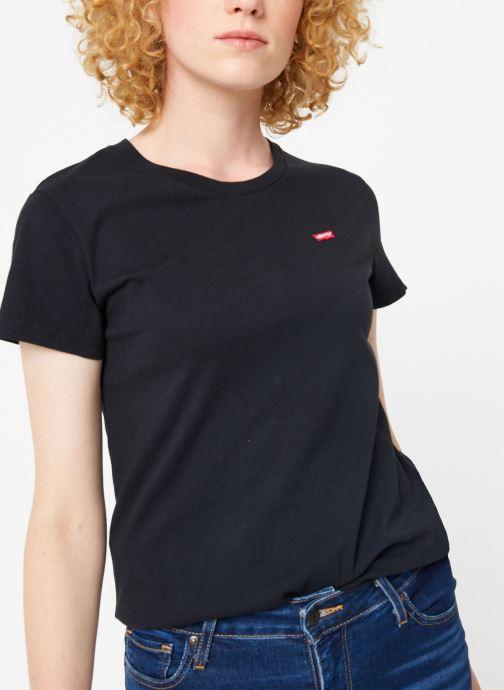 Vêtements Levi's Perfect Tee W Noir vue détail/paire