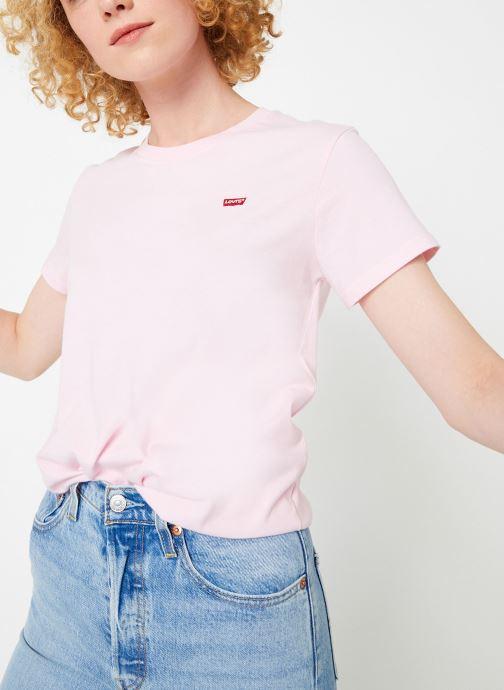 Vêtements Levi's Perfect Tee W Rose vue détail/paire