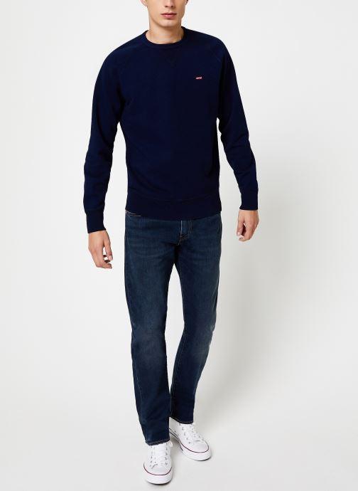 Vêtements Levi's Original Hm Icon Crew M Bleu vue bas / vue portée sac