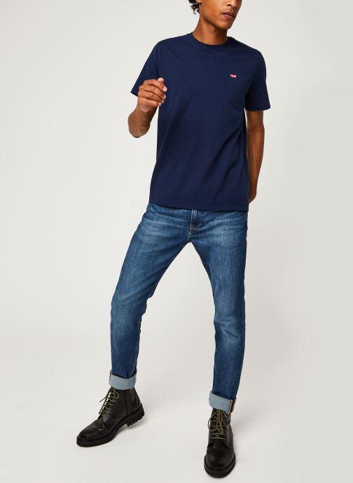 Vêtements Levi's Ss Original Hm Tee M Bleu vue bas / vue portée sac