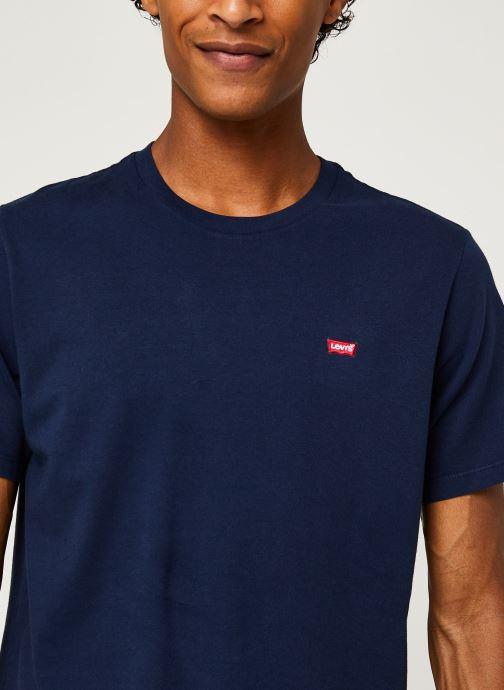 Vêtements Levi's Ss Original Hm Tee M Bleu vue face