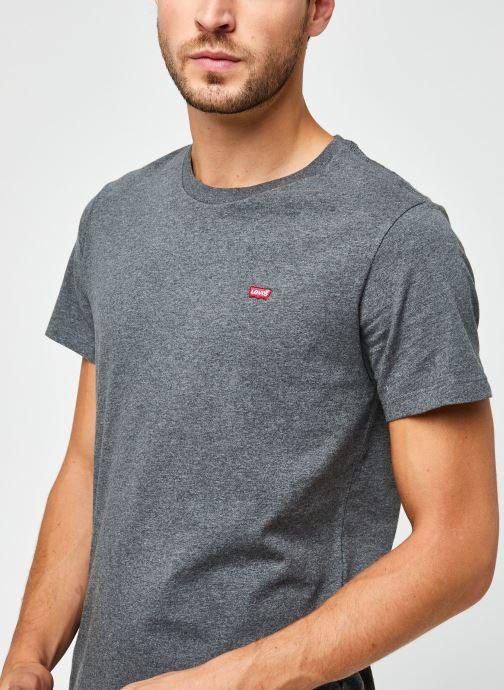 Vêtements Levi's Ss Original Hm Tee M Gris vue face