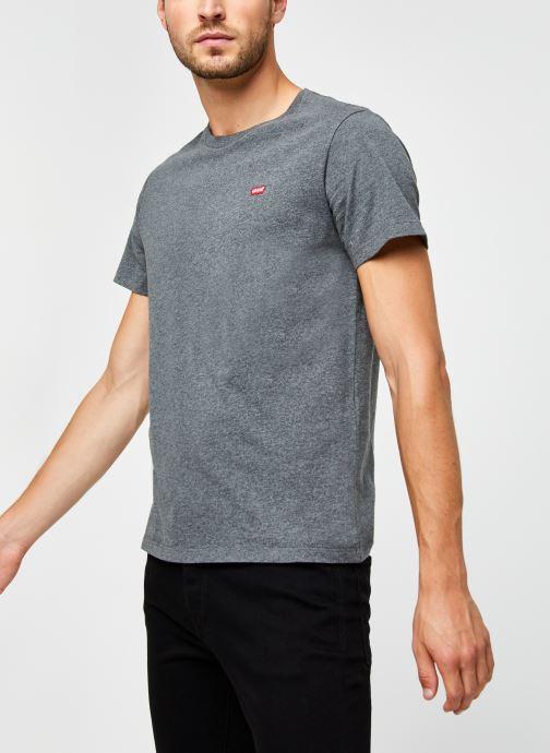 Vêtements Levi's Ss Original Hm Tee M Gris vue droite