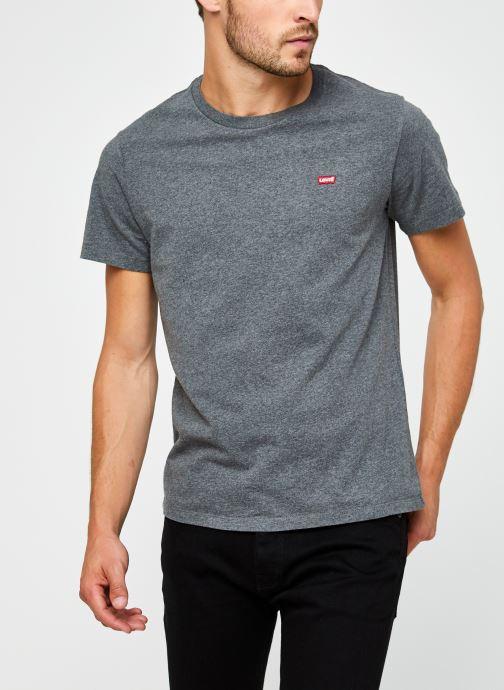 Vêtements Levi's Ss Original Hm Tee M Gris vue détail/paire