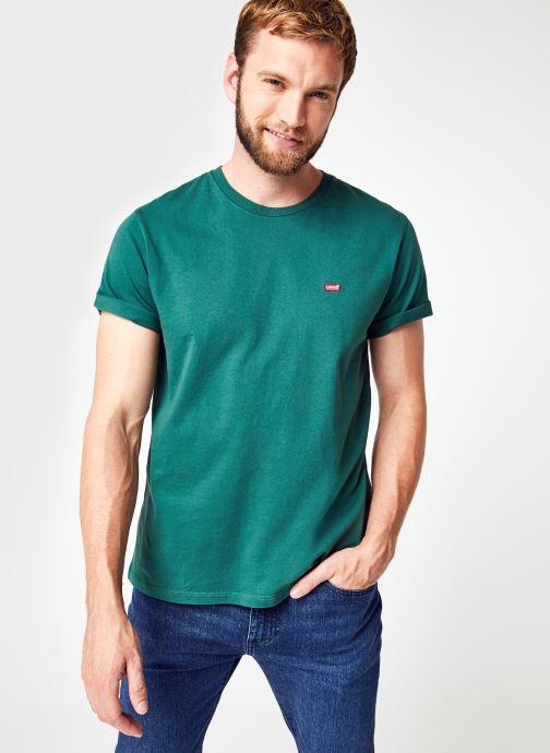 Vêtements Levi's Ss Original Hm Tee M Vert vue détail/paire