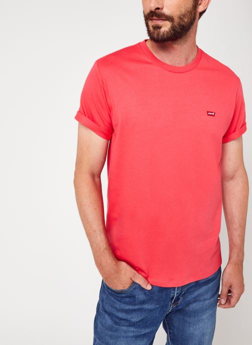Vêtements Levi's Ss Original Hm Tee M Rose vue détail/paire