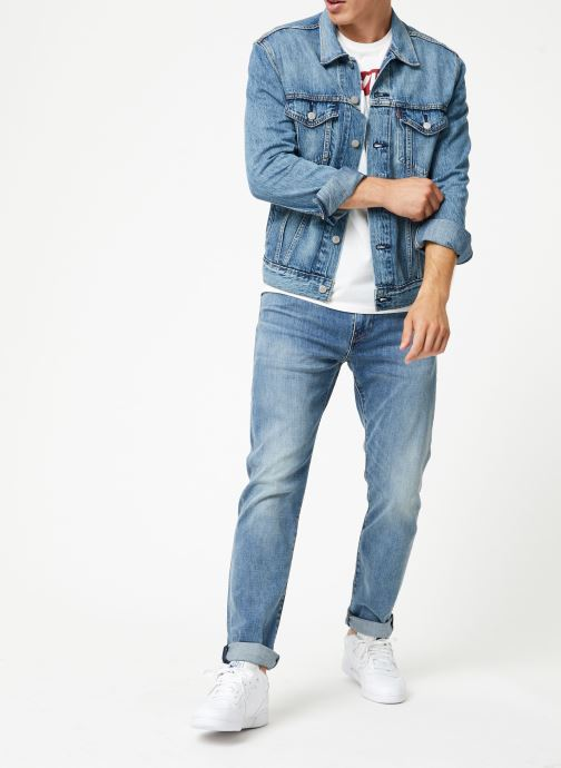 Vêtements Levi's The Trucker Jacket M Bleu vue bas / vue portée sac