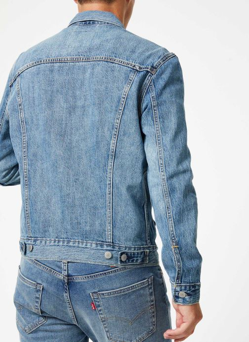 Kleding Levi's The Trucker Jacket M Blauw model