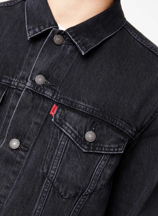Vêtements Levi's The Trucker Jacket M Noir vue face