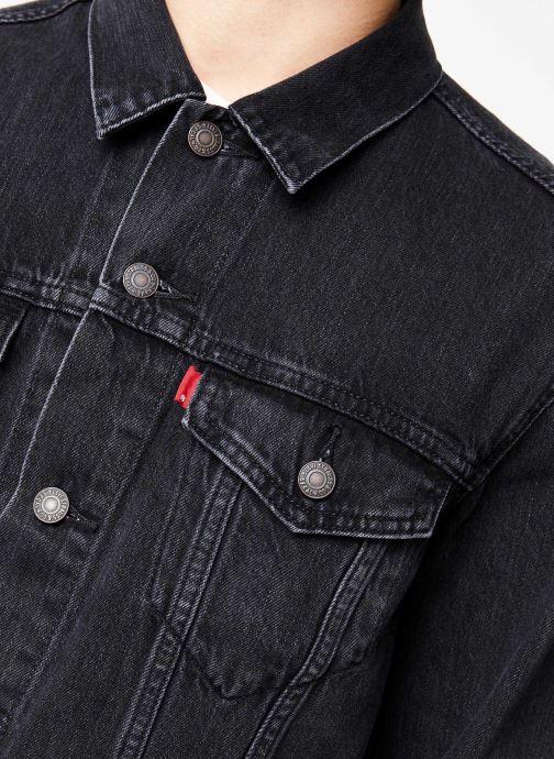 Vêtements Levi's The Trucker Jacket M Noir vue face