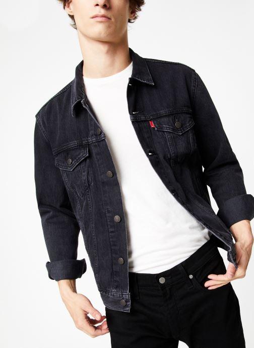 Vêtements Levi's The Trucker Jacket M Noir vue détail/paire