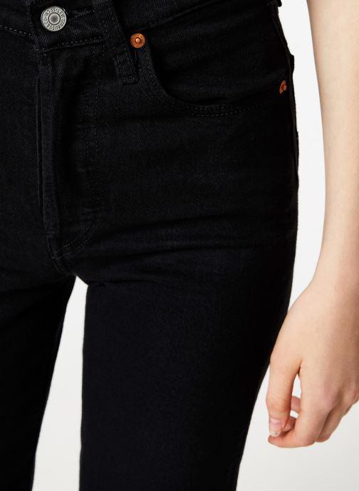 Vêtements Levi's Ribcage Straight Ankle W Noir vue face