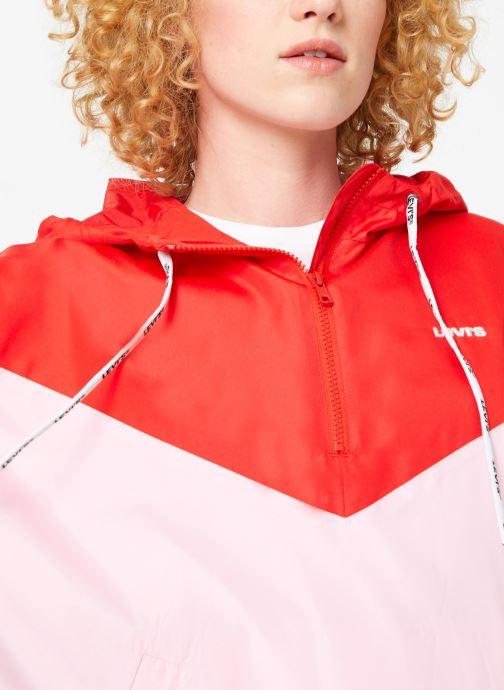 Vêtements Levi's Kimora Jacket W Rouge vue face