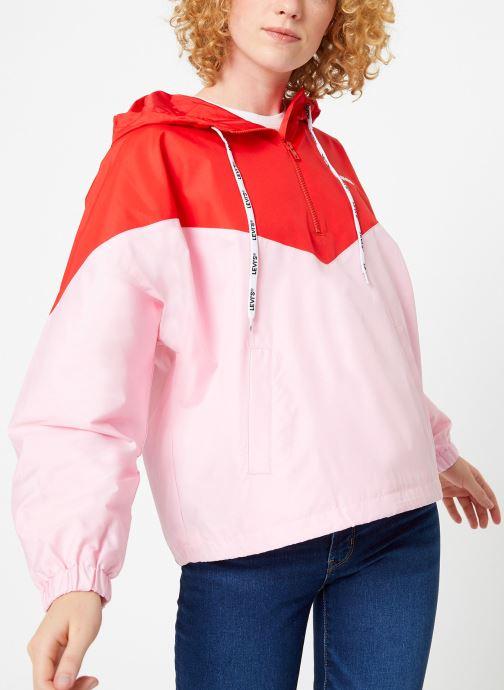Vêtements Levi's Kimora Jacket W Rouge vue détail/paire